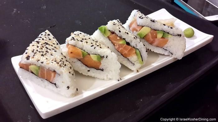 Salmon Sushi Sandwiches