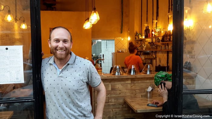 Josh Admon, owner of Urban Cafe