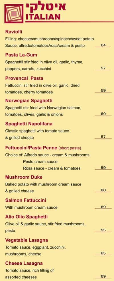 Muscat's Italian courses