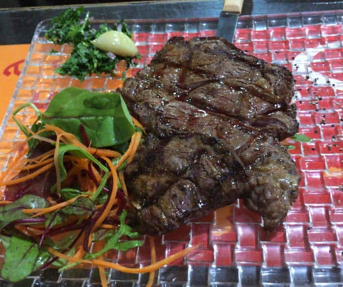 Grill Bar's Entrecote Steak
