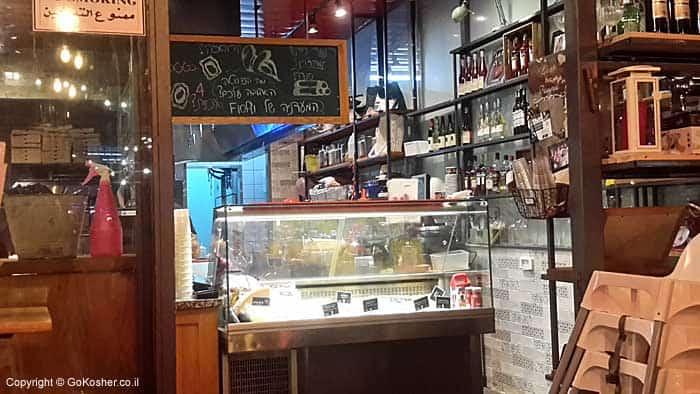 Fiori's open kitchen