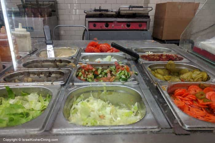 Salad and vegetable fixings